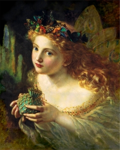Take the Fair Face of Woman, and Gently Suspending, With Butterflies, Flowers, and Jewels Attending, Thus Your Fairy is Made of Most Beautiful Things