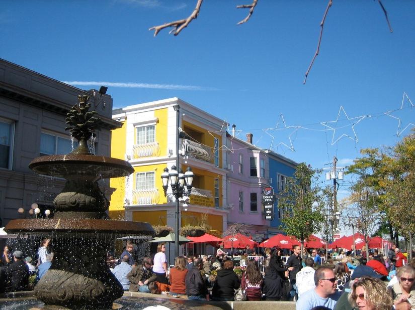 DePasquale Square, Federal Hill in Providence