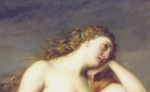 Detail of Calypso by Henri Lehmann