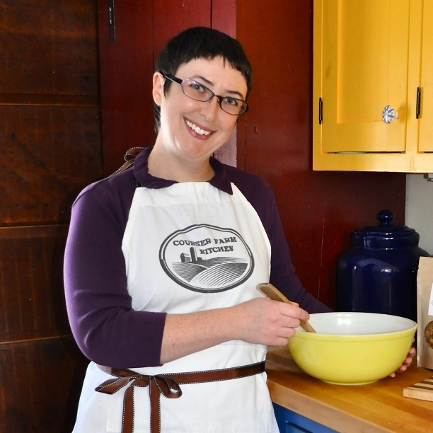 Emma Bates, Proprietor of Courser Kitchen Farm