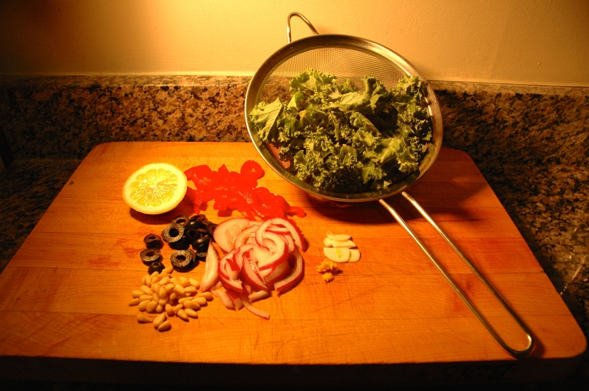 delicious kale recipe for meatless monday