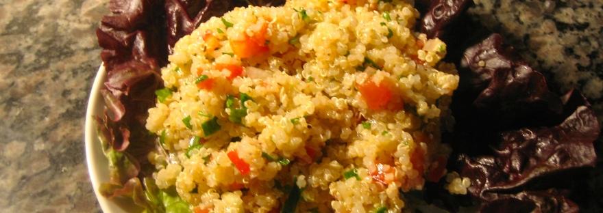 quinoa variation on tabouli