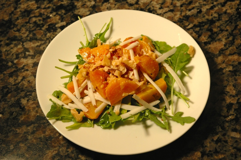 Roasted Golden Beet Salad
