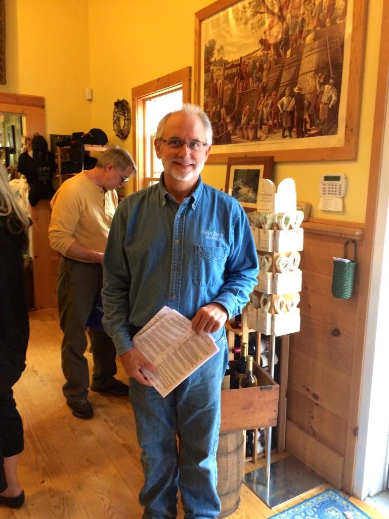 Richard Auger, winemaker