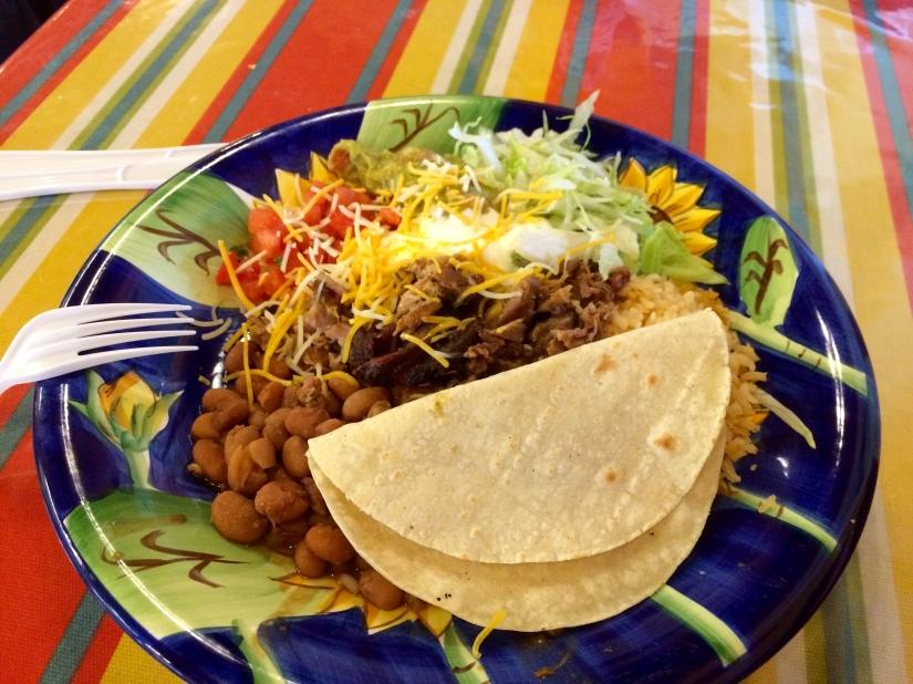 Mexican Plates Oscar's Burritos
